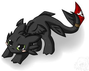 Toothless by RopeXx
