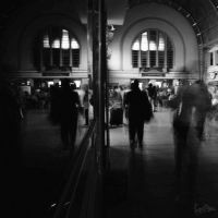 One Day At a Train station.. by ditya