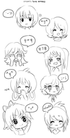 keyboardfaces by onisuu