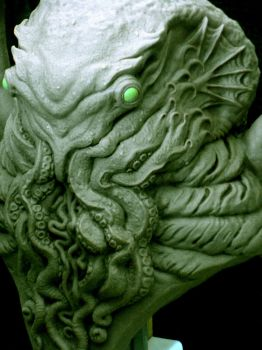 side shot of cthulhu by barbelith2000ad