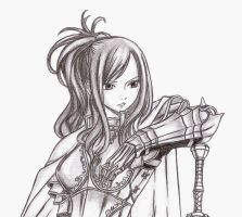 Erza Gift :D by Kello7
