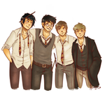 the boys are back in town by Avender