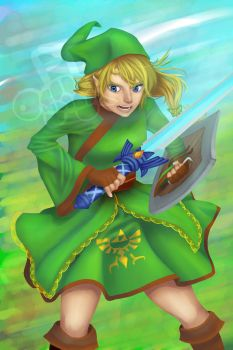 Contest Entry: Hyrule Hero by PunctualTurtle