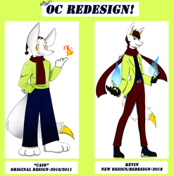 OC Redesign - Caio/Kevin by Drimull