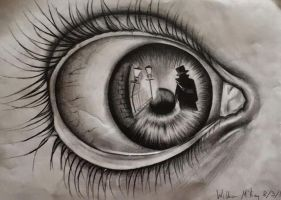 Jack the Ripper eye by WilliamMcKay