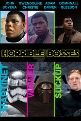 Horrible First Order Bosses by mephron