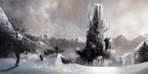 The SnowCastle by thefrenchberet