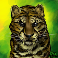 PC sabre-tooth by PurpleHope