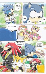 Sonic Got Amy Pregnant Pg 96 by sonicxamy09