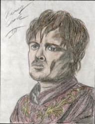 Tyrion Lannister by Taqresu650