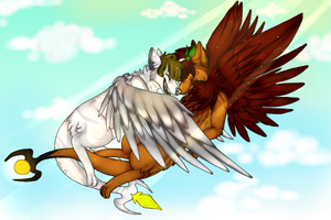 Let's go the distance..together by vanilla-corvid