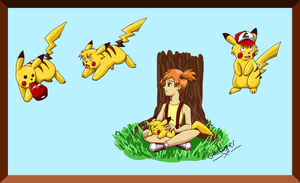Ashachu doodlings by GhostLiger