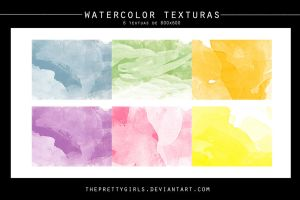 Watercolor Textures (3) by ThePrettyGirls