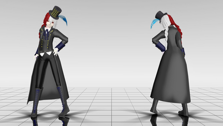 [MMD] - Lest Karr by Candy-Lankery