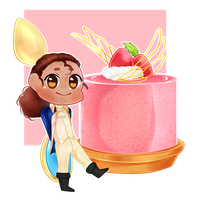 Laurens strawberry mousse by TheDanielHD