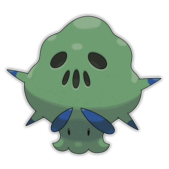 Gangreen, Septic Fakemon by Smiley-Fakemon