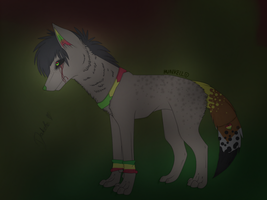 [=ArtTrade=] I need your blood... by Hunkell
