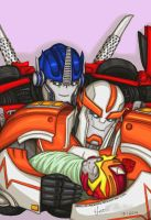 Happy Transformers Family by Angel-of-Milkyway