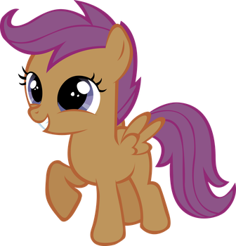 Happy Scootaloo by RainbowCrab