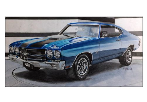 Chevrolet CHEVELLE SS by Stephen59300