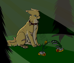 Pixeltober - I'm not ready - Day 23 by Halo--Cat