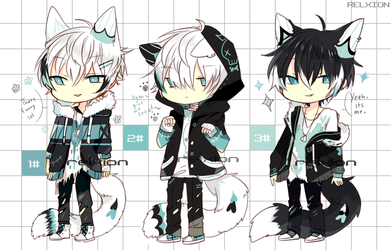 [AUCTION*CLOSED]Lineheart*33 by Relxion-kun