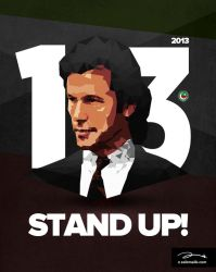 PTI Stand Up Poster by zaib