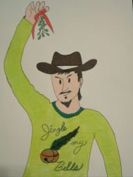 Travis' Ugly Sweater of '17 by BadCowboy69