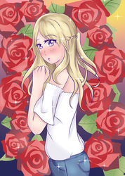Romance and Roses by Ann10158
