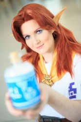 Malon Cosplay - The Legend of Zelda by Fall3nW1ngs