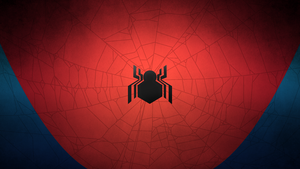 Civil War Spider-Man: Minimal Wallpaper by IronWarrior777