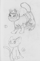 Ninja Cats 1-2 by NinjaObsessed
