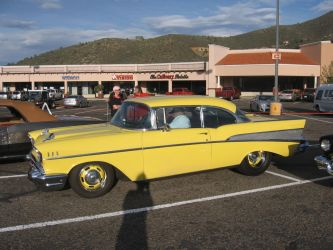 1957 Chevrolet Bel Air Hardtop Coupe by CadillacBrony