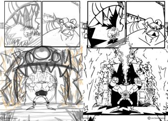 Iss 2 Page 25 Pencils and Inks by JonDavidGuerra