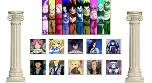Universe Survival Arc: Team Fairy Tail by lightyearpig