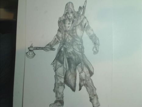 Connor Assassin Creed by DemanQc