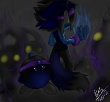 It's us against the Darkness by SerafinaTheHedgehog