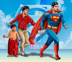 Superman 1978 by hamletroman