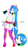 .:Model DL:. LAT Re : Dial Miku UPDATE! by MMDAnimatio357