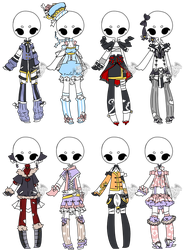 .:Adopted:. Outfit Batch 04 by DevilAdopts
