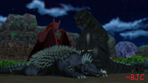 [MMD] More Sleepy Kaiju by BigJohnnyCool