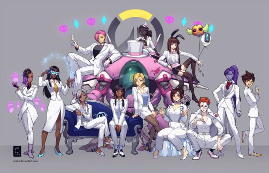 Overwatch Suits - Ladies by einlee