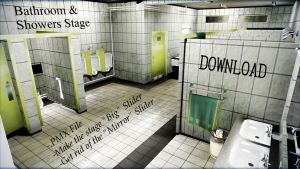 Bathroom and Shower Stage DL by xXFrenchToastXx
