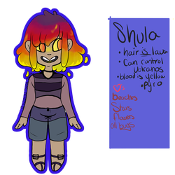 Shula the lava planet by spookydudeJude