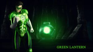 Green Lantern Wallpaper by BatmanInc