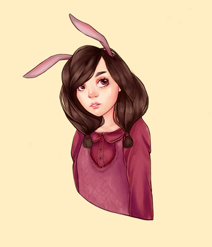 Bunny by Poppeelee