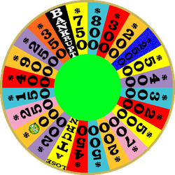 1990 Round 2 Nighttime Wheel with Free Spin by mrentertainment