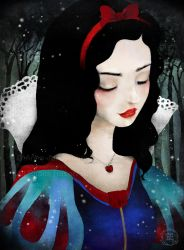 Snow White by AnneJulieAubry