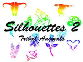 Silhouettes II - Tribal Animal by corazonofmine