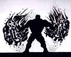 The Incredible Hulk by Philanthropic-Racoon